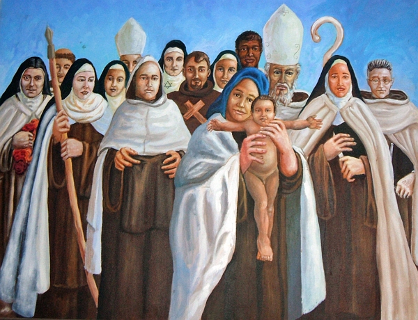 Saints of Carmel - Our Lady of Lourdes parish, Calle Real, El Salvador