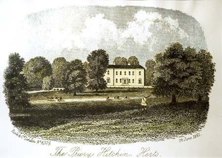 The house as it appeared in 1861